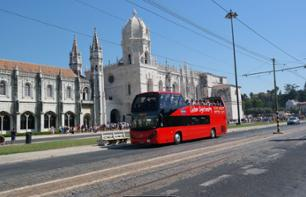 Hop-on hop-off bus tour of Lisbon