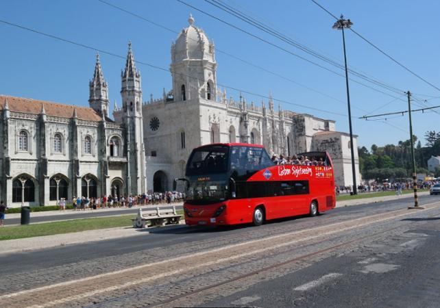 Pass transport 48h - Visite de Lisbonne en bus à arrêts multiples - Lisbonne -