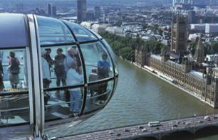 London Eye and river cruise