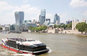Visit to Madame Tussaud's and a cruise on the Thames