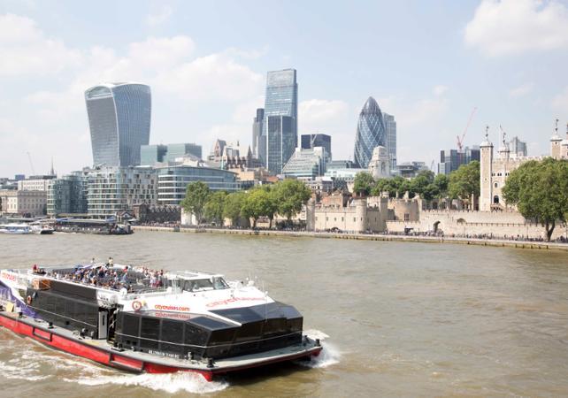 Ver la ciudad,City tours,Visitas en barco o acuáticas,Cruises, sailing & water tours,Madame Tussauds Museum,Crucero Támesis,Thames River Cruise,Museo Madame Tussauds