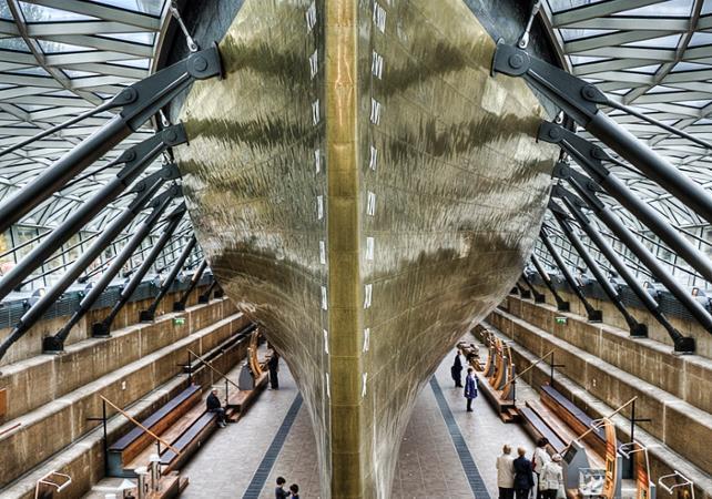Croisière sur la Tamise et visite du navire Cutty Sark - Londres -