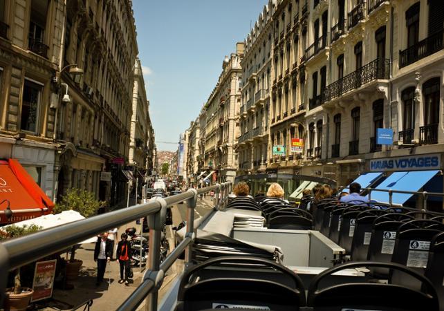 Lyon en bus à impériale - Pass 1 ou 2 jours