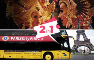 2-in-1 Offer: Evening Bus Tour & Moulin Rouge Show