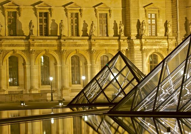 Tickets, museos, atracciones,Tickets, museums, attractions,Museos,Museums,Museo del Louvre,Visita nocturna