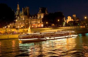 Romantic Night in Paris: Dinner at the Eiffel Tower, Evening River Cruise & Moulin Rouge Show