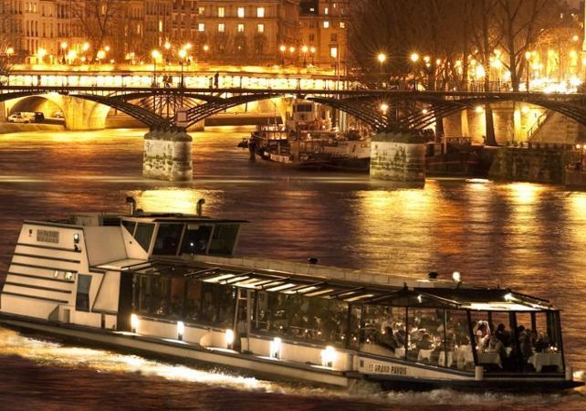 ,Crucero por el Sena,Museo de Orsay,Con cena
