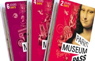 Paris Museum Pass - 2 ou 4 dias