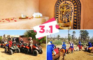 Camel Ride, Quad Ride, and Spa Visit - Transport Included - Marrakesh