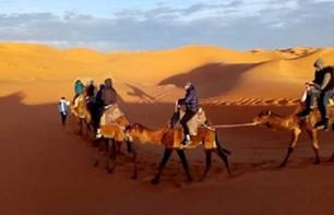 Private excursion 3 days / 2 nights in the desert of Merzouga (Sahara) - Departing from Marrakech