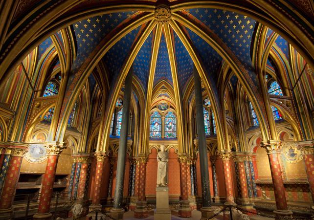 Conciergerie sainte chapelle billet pour la sainte - Plafond de la chapelle sixtine description ...