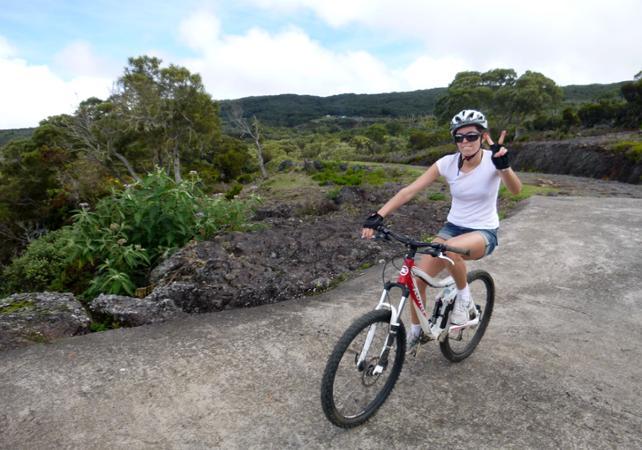 Randonnée en VTT à La Réunion - premier niveau - La Réunion et ses sites touristiques -