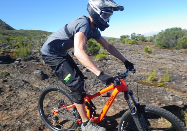 Randonnée en VTT à La Réunion - niveau intermédiaire - La Réunion et ses sites touristiques -