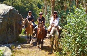 Morning Horse Ride in the Andes – Departing from Santiago
