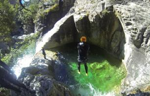 Discover Canyoning at Richiusa Canyon – Leaving from Bocognano, 50 minutes from Ajaccio