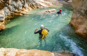 Discover Canyoning at La Pruniccia Canyon – Leaving from Bocognano, 50 minutes from Ajaccio