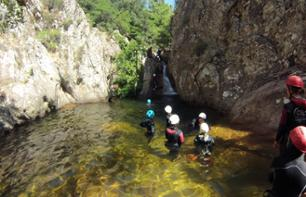 Half day canyoning in the Baracci Canyon - 25 minutes from Propriano