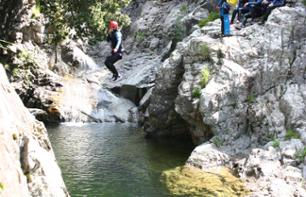 Half a day canyoning in the Zoicu Canyon - 1 hour from Sagone and Cargèse and 1 hour and 30 minutes from Ajaccio