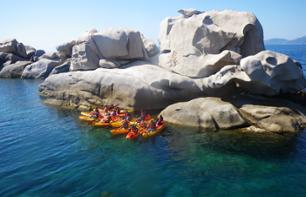 Kayak trip in Isolella - 35 minutes from Ajaccio