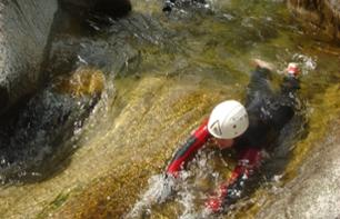 Aquatic hike to the Vecchio Canyon - 30 minutes from Corte and 1 hour 10 minutes from AJaccio