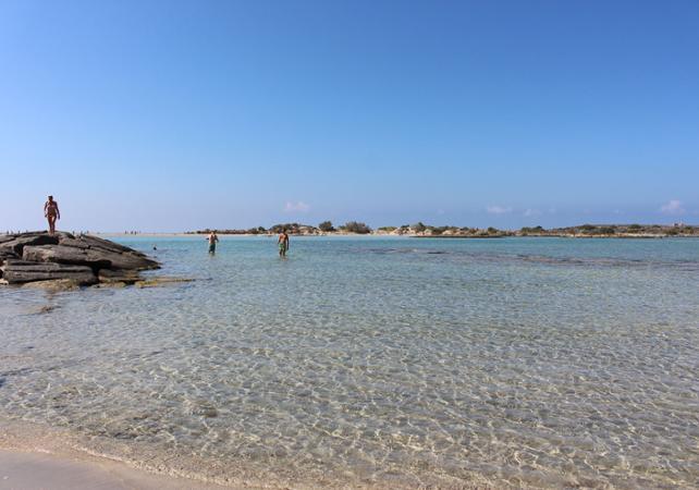 Excursion dans la réserve naturelle d'Elafonissi – Crète - Crète -