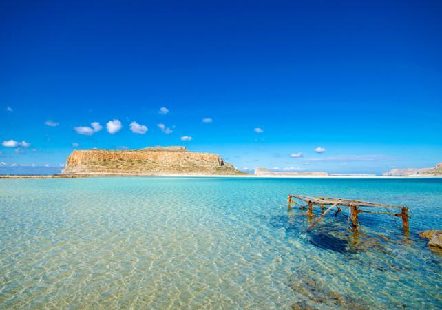 Excursion sur la presqu'île de Gramvoussa - Crète - Crète -