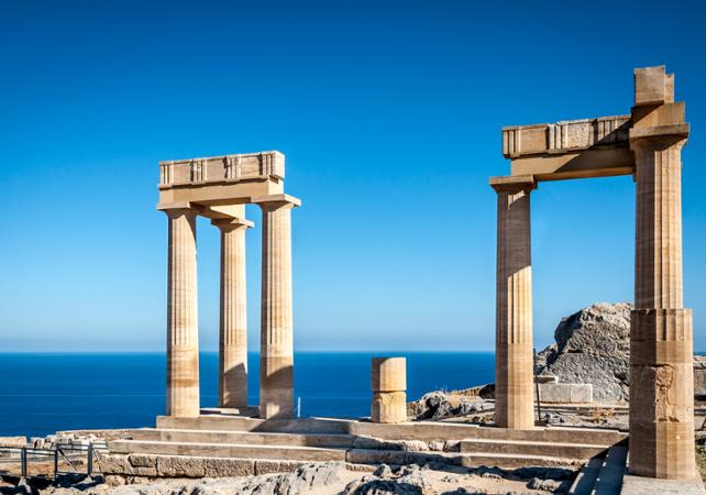 Photo Visite guidée d'une demi-journée à la découverte du village de Lindos - Rhodes