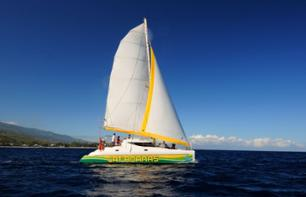 Catamaran Cruise off the Coast of La Réunion