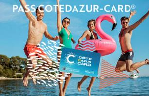 The COTEDAZUR-CARD® – Your Tourist & Activity Pass / 180 activities to enjoy the French RIviera