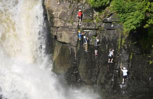 Via Ferrata no Canyon Sainte-Anne; a 30 min do Quebec