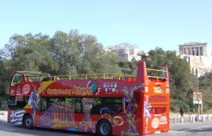 Athens Hop-on, Hop-off Bus Tour – 24-hour pass