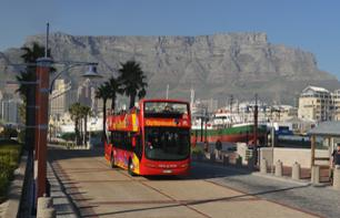 Tour of Cape Town and the Cape Peninsula by Hop-on, Hop-off Bus – 40 monuments, sites and attractions