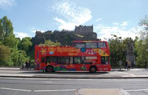 Hop-on Hop-off Guided Bus Tour of Edinburgh – Multilingual