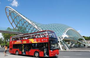 Hop-On Hop-Off Bus Tour of Tbilisi – 1 or 2 Day Bus Pass
