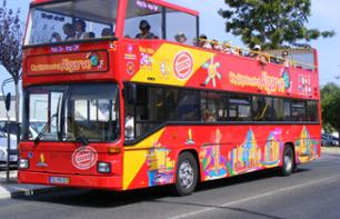 "Tour di Albufeira con bus ""hop-on hop-off"" - Pass bus 24h illimitato"