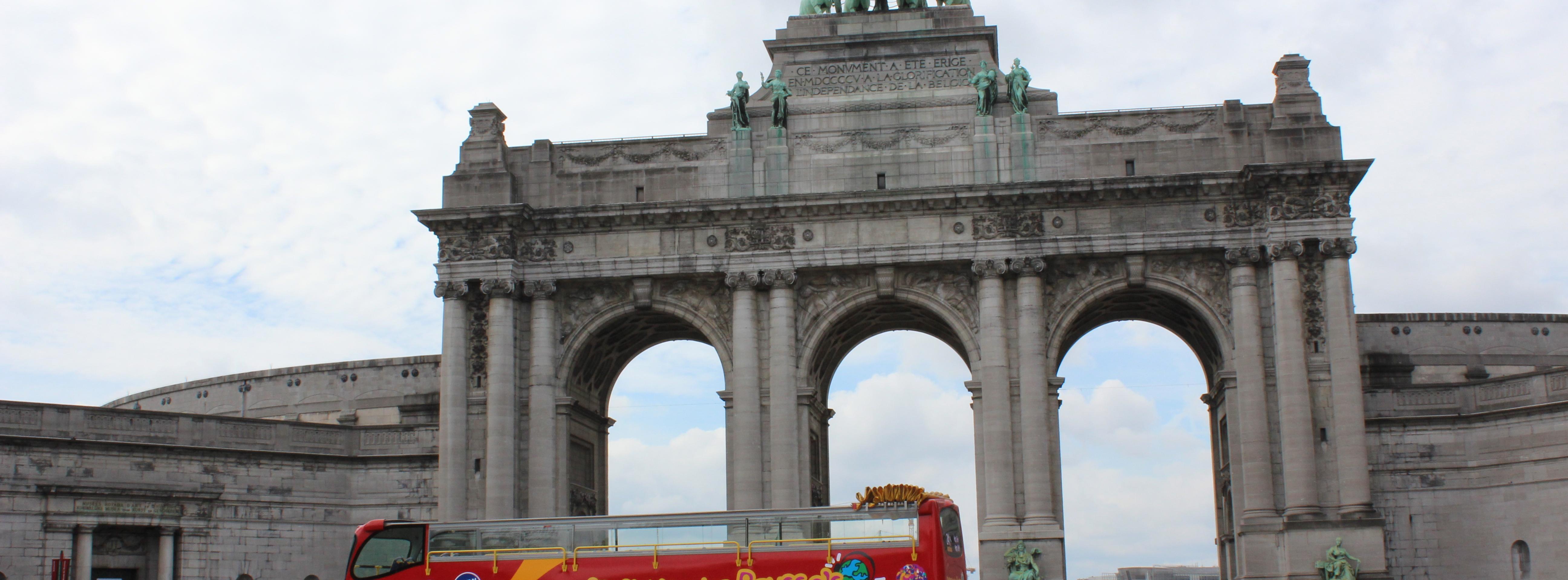,Tour por Bruselas,Tour en autobús
