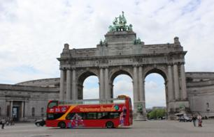 Hop-on Hop-off Bus Tour of Brussels – 24 or 48-hour Pass