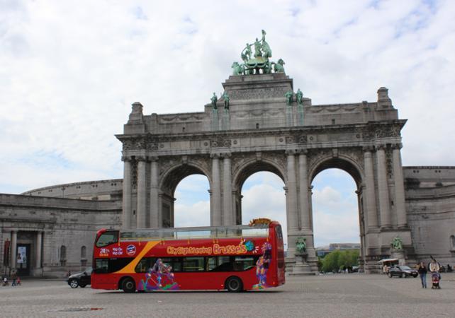 ,Tour por Bruselas,Tour en autobús,Bus turístico ,Hop-On Hop-Off