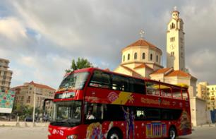 Tour of Beirut on a panoramic bus - Hop-On-Hop-Off - 24H or 48H Pass