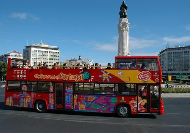 Pass transport 24h  - Visite de Lisbonne en bus à arrêts multiples - Lisbonne -