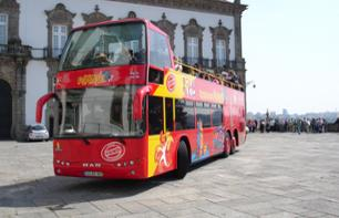 Hop-On Hop-Off Bus Tour of Porto: Stops at 45 monuments and attractions!