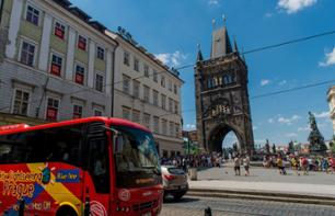 2-for-1 Deal: 24 or 48 Hour Prague Bus Pass - Hop-on, Hop-Off Bus and Guided Visit to Prague Castle