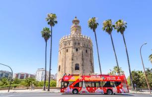 Tour di Siviglia con bus a fermate multiple - Pass 24 ore