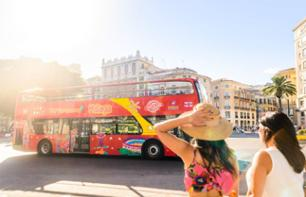 Guided Hop-On Hop-Off Bus Tour Malaga – 24-hour pass with ticket for the Musseum of Music included
