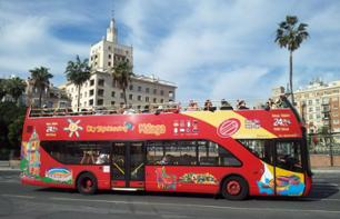 Guided Hop-On Hop-Off Bus and Walking Tour Malaga