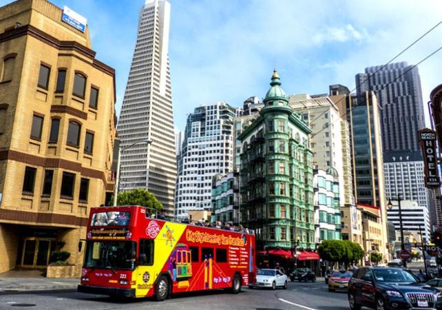 Photo Tout San Francisco en bus à arrêts multiples