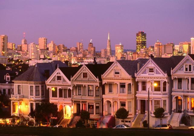 Visiter San Francisco de nuit - Tour panoramique en Bus à toit ouvert - San Francisco -