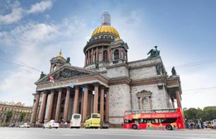 Hop-On Hop-Off Saint Petersburg Bus Tour and Cruise – 48h