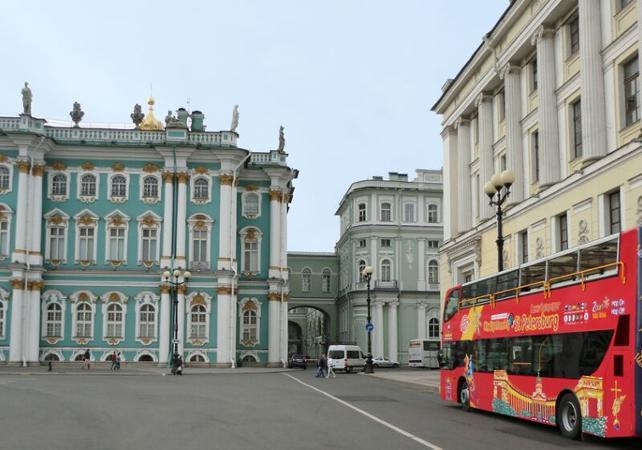 Visite de Saint Pétersbourg en bus à arrêts multiples - 1 jour ou 2 jours - Saint Petersbourg -