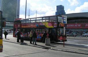Warsaw Tour by Hop-on, Hop-off bus – 1, 2 or 3-day pass